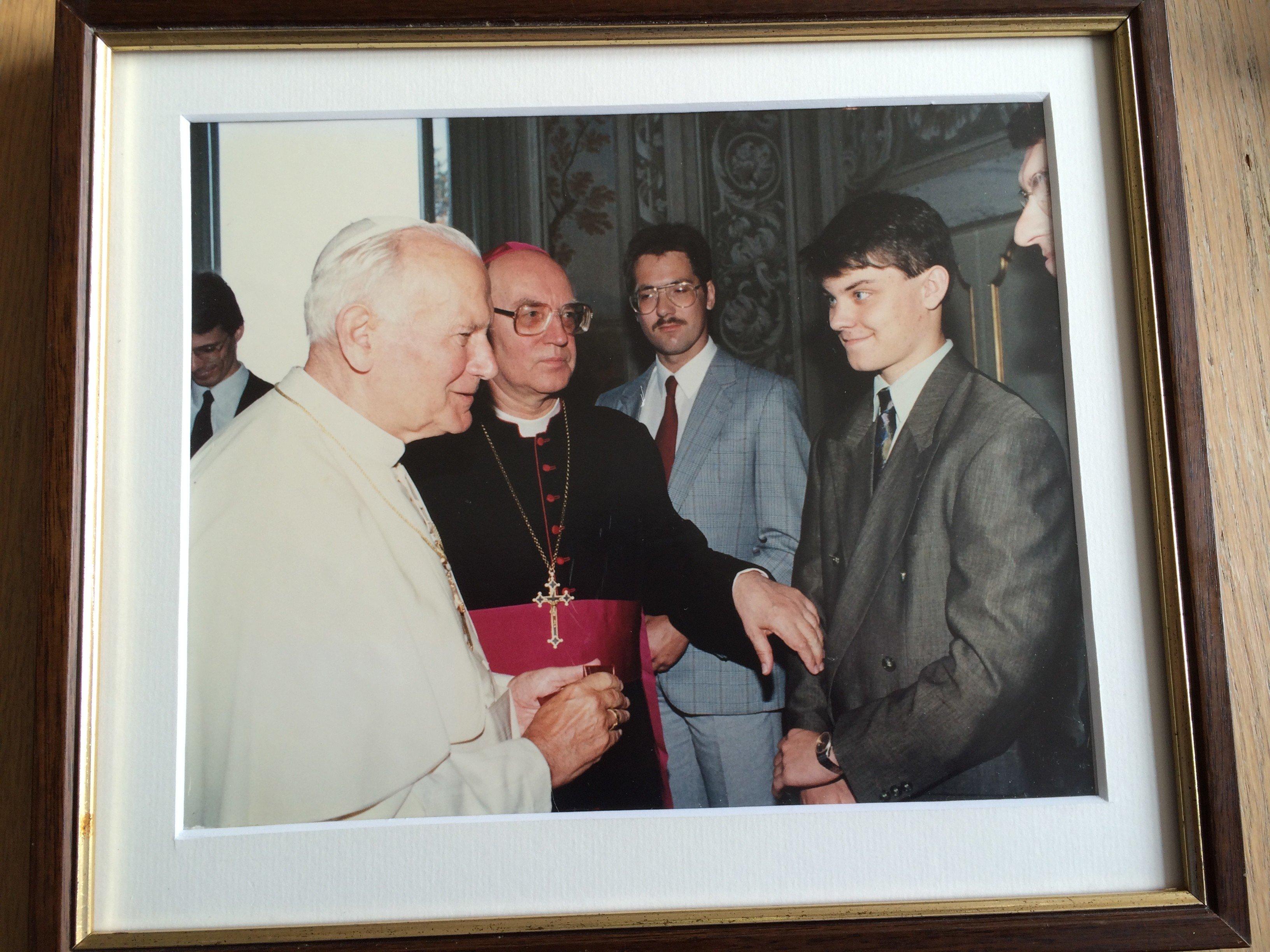 Johannes Paulus II, Johannes Ter Schure.